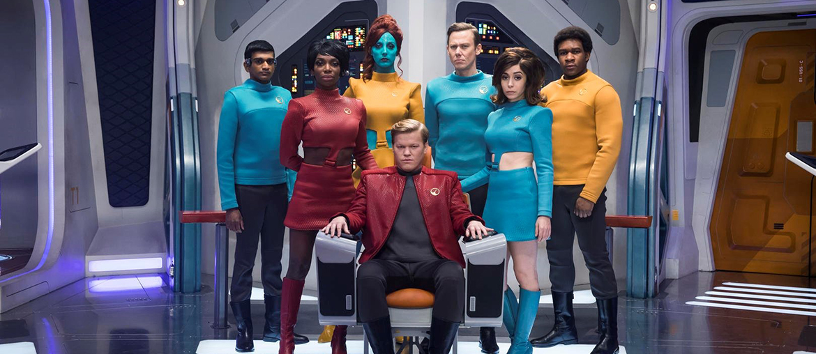 Milanka Brooks in Black Mirror USS Callister